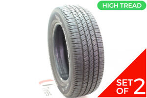 Set Of 2 Used P 275 60r20 Goodyear Wrangler Sr a 114s 10 32