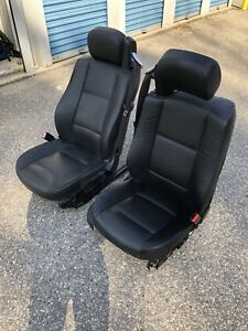 Bmw 2005 E46 Convertible Sport Seats Front Oem 330ci 325ci Leather Heat