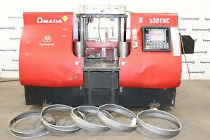 Amada Hfa 530 Cnc 20 9 X 20 9 Horizontal Cnc Controlled Metal Cutting Band Saw