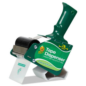 Extra wide Packaging Tape Dispenser 3 Core Green