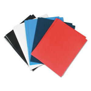 Laminated Two pocket Folder Cardboard Paper Assorted 11 X 8 1 2 25 box