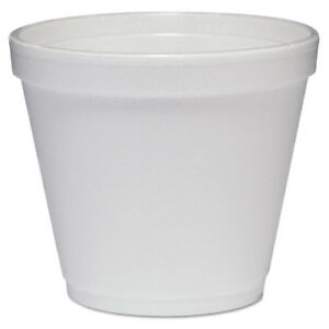 Food Containers Foam 8oz White 1000 carton
