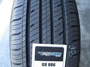 4 New 215 55r17 Inch Ironman Gr906 Tires 2155517 215 55 17 R17 55r 440aa