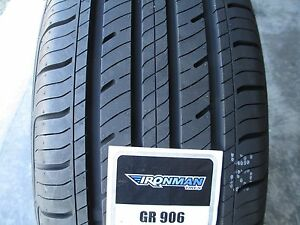 4 New 225 55r17 Inch Ironman Gr906 Tires 2255517 225 55 17 R17 55r 440aa