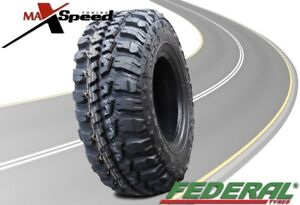 Qty Of 1 Federal Couragia M T 33x12 50r15 108q 6ply Mt All Terrain Mud Tires