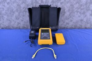 Fluke Dsp 100 Lan Cablemeter Dsp r Remote Ac Adapter And Case