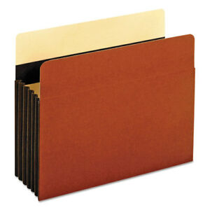 Heavy duty File Pockets Straight 1 Pocket Letter Redrope