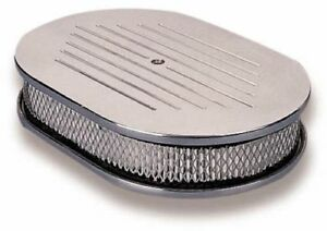 Holley 120 141 Custom Oval Air Cleaner