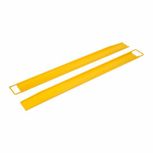 72x 5 5 Forklift Pallet Fork Extensions Pair High Tensile Strength Retaining