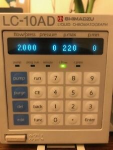 Shimadzu Lc 10ad Hplc Pump With Gradient Mixers 0 5 1 7 And 2 6 Ml