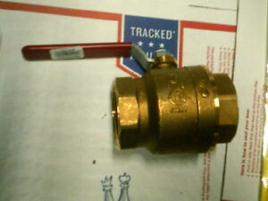 Nibco Mss sp 110 2 Inch Full Port Brass Ball Valve Lead Free Fip Threaded Ends