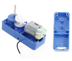 1 94 Mini Electric Reduction Box Dc Gear Motor Diy Toy Robot Car Dc1 5 6v