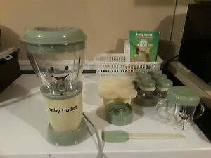 Baby Bullet Food Making System Full Set Baby Food Processor