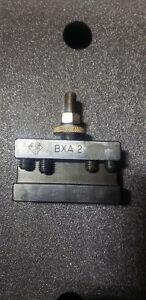Aloris Bxa 2 Lathe Quick Change Tool Holder Excellent Condition