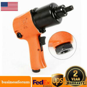Air Impact Wrench 1 2 Square Drive Twin Hammer 850ft Lb 1 4 Npt Light Weight