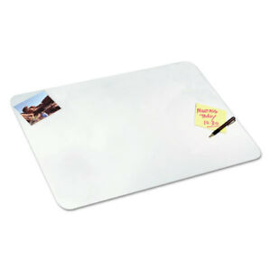 Clear Desk Pad With Microban 19 X 24 Plastic