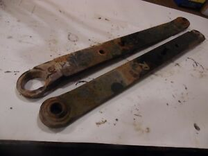 1982 Allis Chalmers 6140 Diesel Farm Tractor 3 Point Hitch Arms