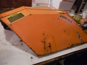 1982 Allis Chalmers 6140 Diesel Farm Tractor Left Fender