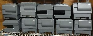 Lot Of 10 Ibm 4610 2cr 40n6965 Receipt Pos Printer W Check Scan