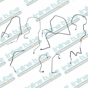 1997 2002 Ford Expedition Brake Line Set 7pc With 4 Wheel Abs 4wd Suv Stainless