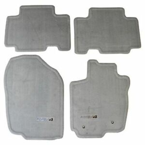 Genuine Toyota 2006 2012 Rav4 Ash Gray Carpet Floor Mats Set Pt208 42051 31