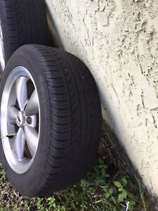 Ford Mustang Wheels And Tires From 2001 07