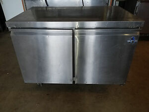 Coldtech Two Solid Door Commercial Undercounter Refrigerator