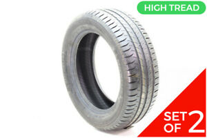 Set Of 2 New 205 55r16 Michelin Do Not Use Energy Saver 91h 9 5 32
