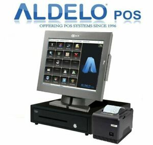 Aldelo Pos Pro Complete Pizza Restaurants With Kitchen Printer 5 Yrs Warranty