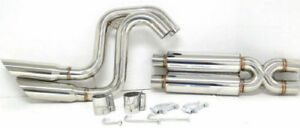 Obx Side Exit Catback Exhaust W Dual Tips For 1999 To 2003 F150 Lightning 5 4l