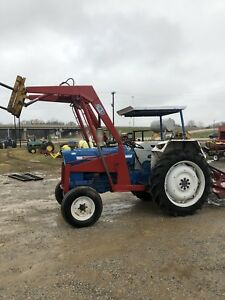 Ford 4000 Diesel Tractor With Loader Factory Power Steering Remote Hydraulic