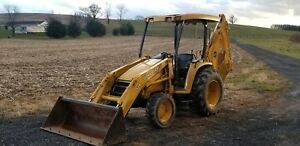 John Deere 110 Backhoe 1500 Hours 4x4 Ready For Work