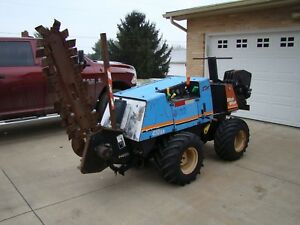 2000 Ditch Witch 410sx Trencher Cable Plow