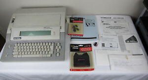 Smith Corona Pwp 250 Personal Word Processor Typewriter Vg Tested W Ribbon Manua