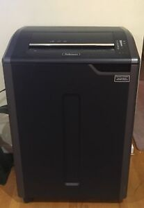 Fellowes Powershred 485ci Shredder Cross Cut In Excellent Condition