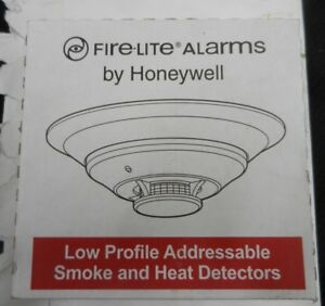 New Honeywell Fire lite Alarms H355 Low Profile Addressable Smoke heat Detectors