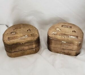 Vintage Buffalo Denture Curing Flasks