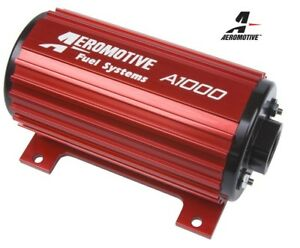 Aeromotive A1000 Fuel Pump 90 Psi 10an Inlet Outlet 11101 Free Shipping