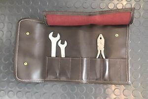 New Ferrari Dino 246gt Reproduction Tool Bag With 3 Reproduction Tools