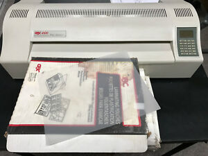 Gbc 4500 Pro Series Laminator 18 Hot cold Laminating Machine