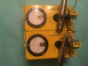 Two Cdv 700 Geiger Counters A rebuild Special