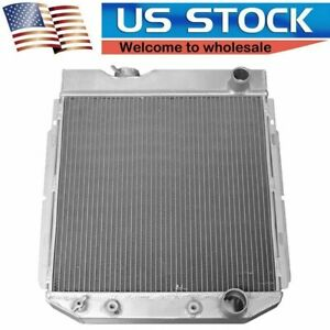 Cc259 3 Rows Aluminum Radiator Fit 1963 1964 1965 1966 Ford Mustang V8 260 289cu