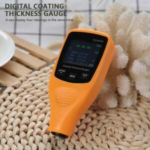 Rz260fn Digital Paint Coating Thickness Gauge Car Body Painting Thickness Tester