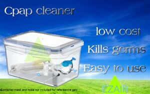 Cpap Mask Hose Water Tank Cleaner Sanitizing Machine Fisher Resmed Phillips Any