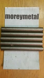 5 Pieces Titanium Rod round Bar 9 16 Diam 4 75 Long Cp Grade 2 Xrf Verified