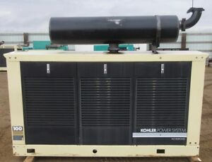 100 Kw Kohler Ford Natural Gas Or Propane Generator Genset Load Tested