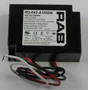 Rab Lighting 40w Led Driver Rd 042 a1050n