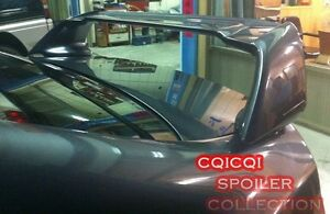 Unpainted Honda 06 10 Civic 4d Mugen Rr Type Trunk Spoiler Stickers