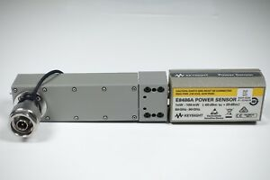 Keysight Used E8486a Waveguide Power Sensor 60 90 Ghz Opt 200 agilent
