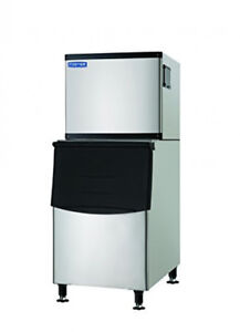 Commercial Ice Maker 500lb Full Dice With 275 Lb Bin